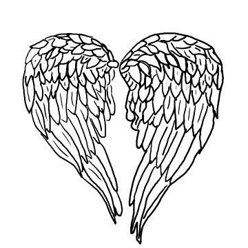 360x360 Angel Wings Tattoo Designs