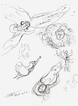332x450 Drawings Of Angel Wings