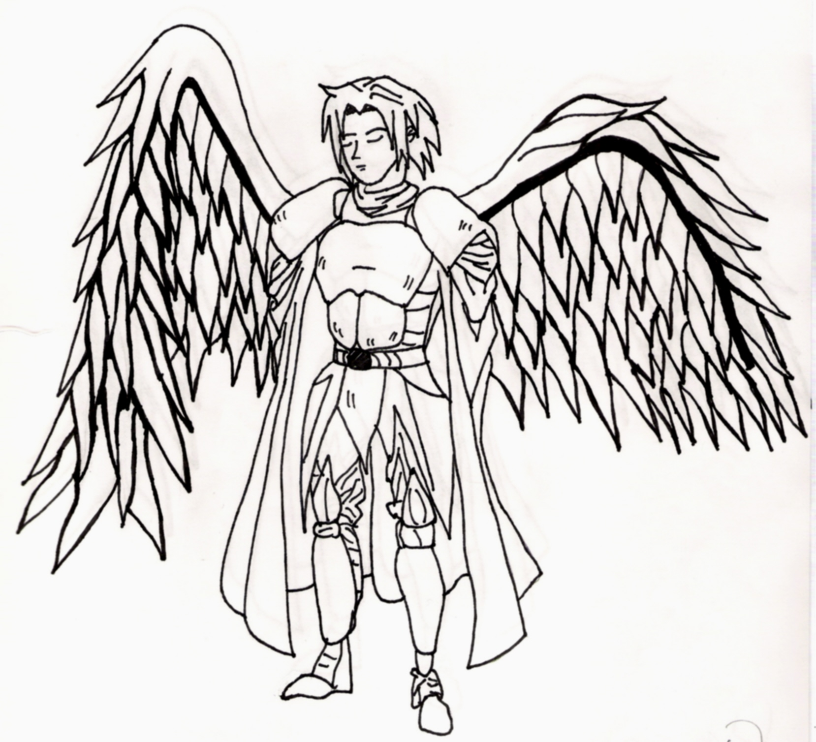 1658x1508 Guy With Wings By 0neko