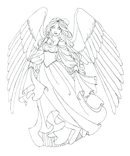 416x500 Wing Coloring Pages Great Angel Wings Coloring Pages About Remodel