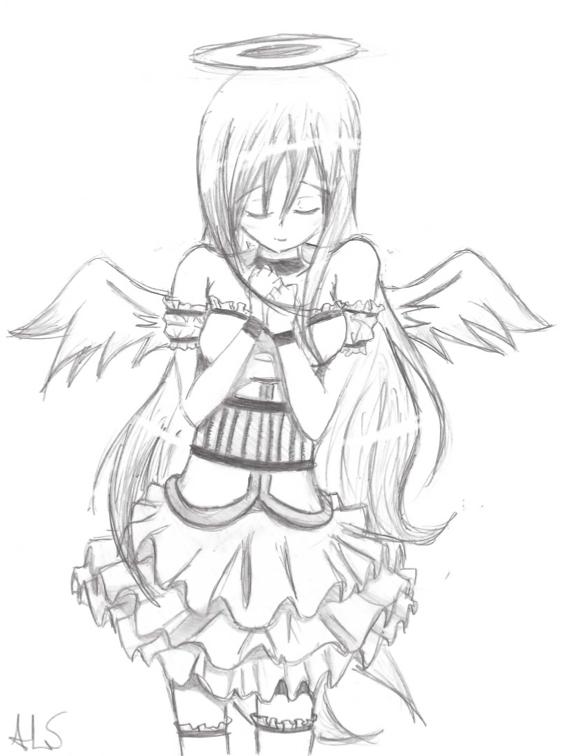 563x756 Angel Wings By Akachan Okami