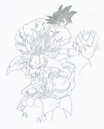 436x539 Movement Goku By Warrior Angel Wings