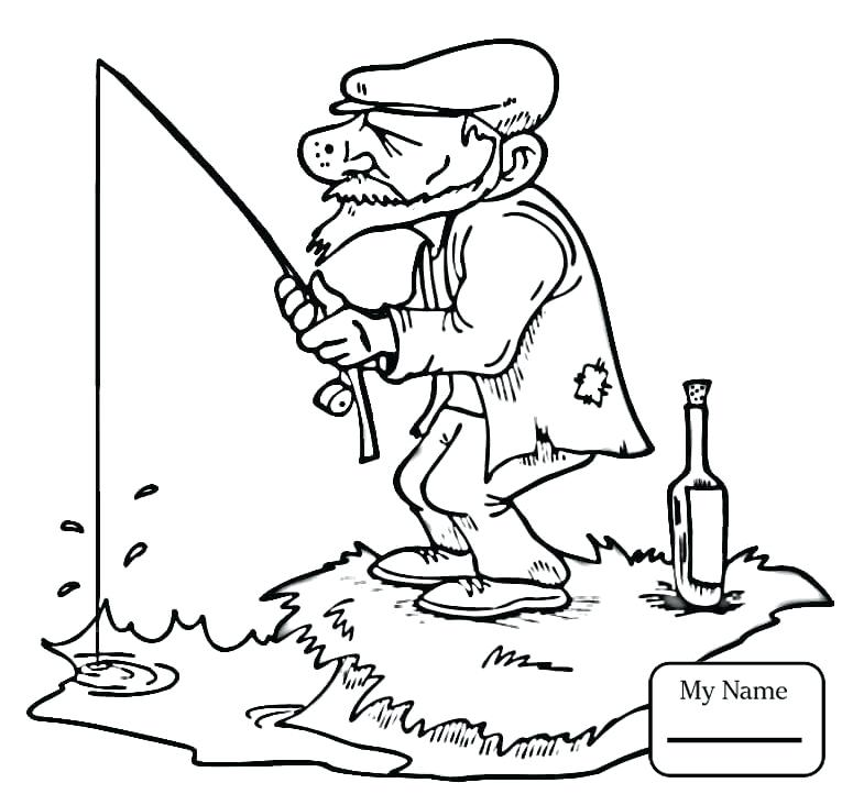 765x722 Fishing Coloring Pictures Activities Equipment For Fishing Fishing
