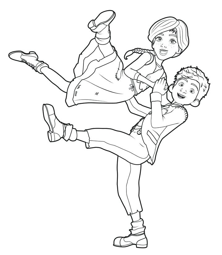 718x825 Coloring Pages Ballerina Coloring Page Ballerina Angelina
