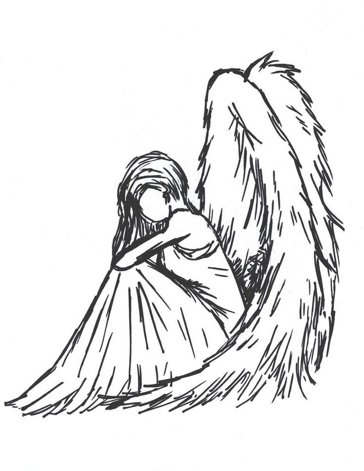 736x952 Image Result For Pencil Drawings Of Angels And Demons Art
