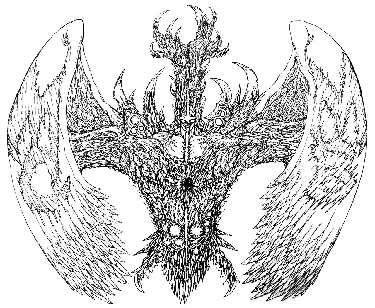 1280x1051 Angel Of Death Drawing Drawings Of Death Angels Angel Of Death
