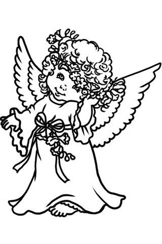 320x480 Gallery Cute Angel Drawings,