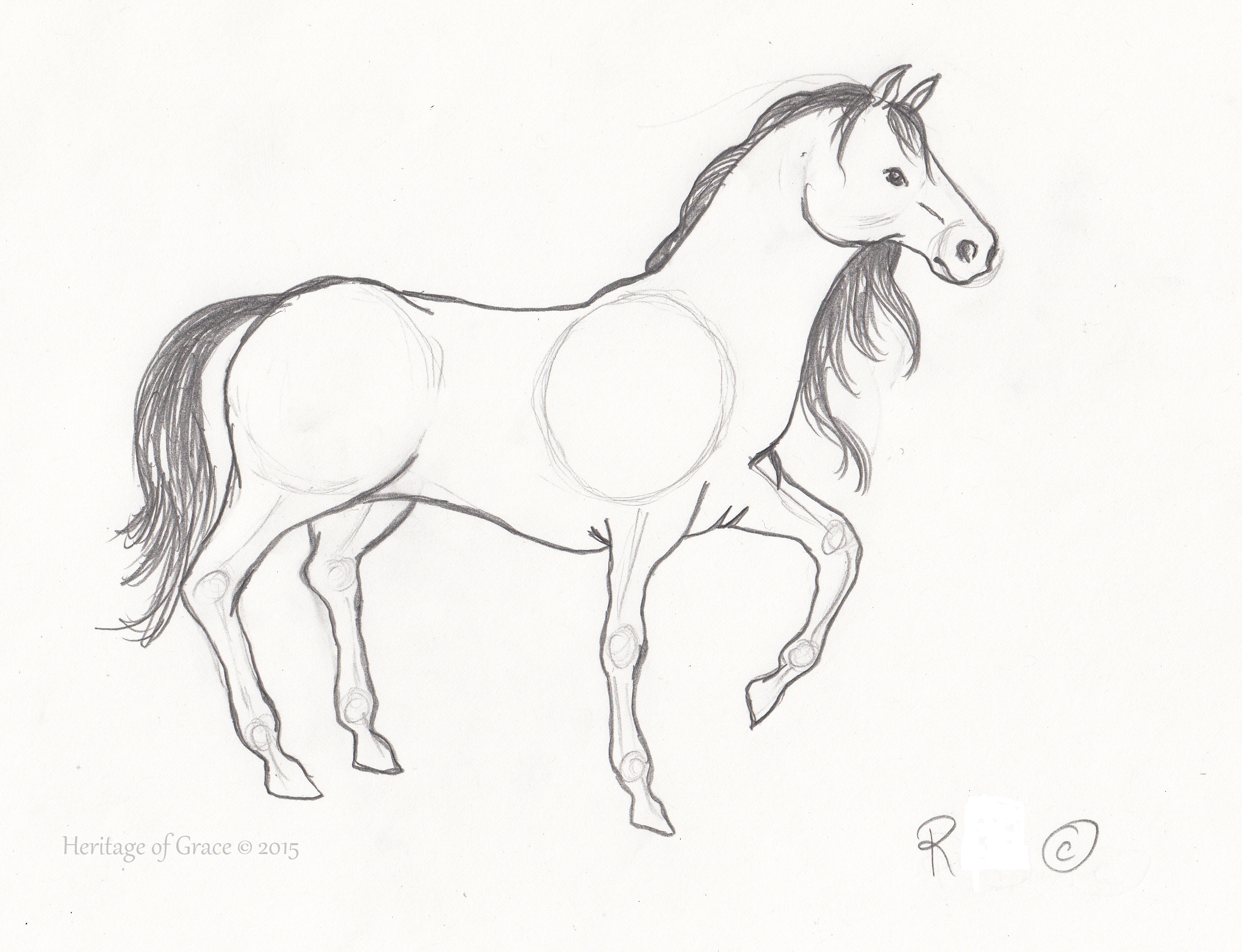2509x1924 Pencil Sketches Of Horses And Angels Sketches Of Horse