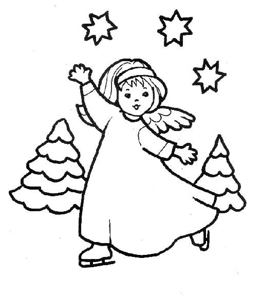 Angels For Kids Drawing