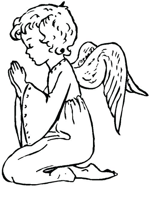 500x679 Free Printable Angel Coloring Pages Free Angel Coloring Pages Cute