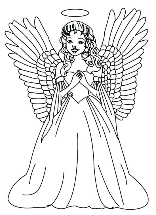 550x756 Angels Coloring Pages As Coloring For Kids Coloring Pages To Print
