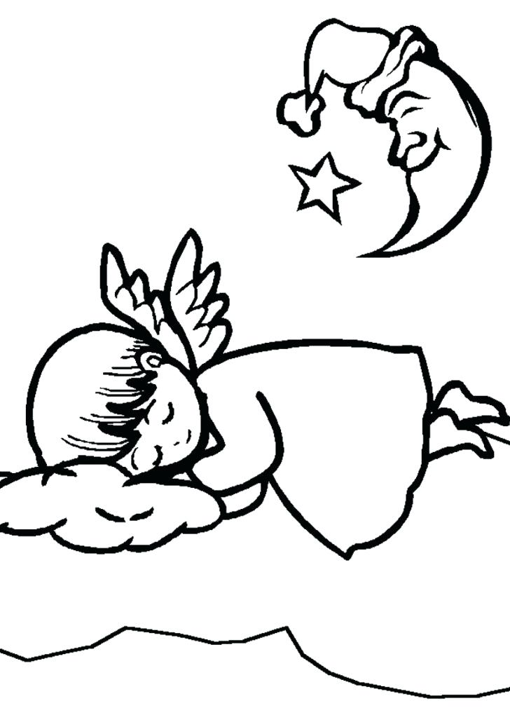 728x1030 Angels Coloring Pages Print Download Kids Hello Kitty Coloring