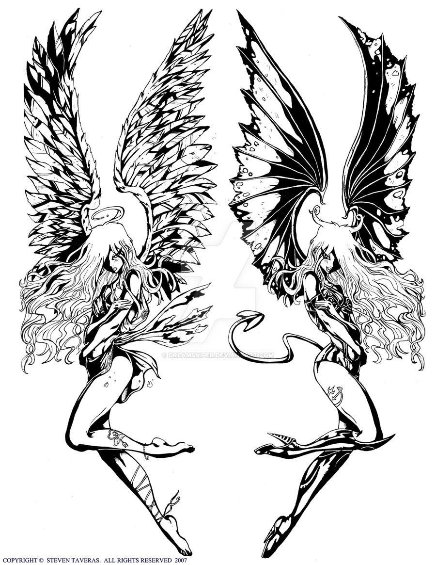900x1165 Demon Angel By Dreamsniper