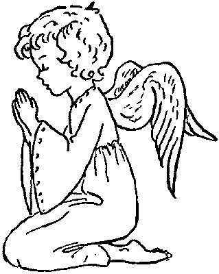 319x400 Drawn Angel God