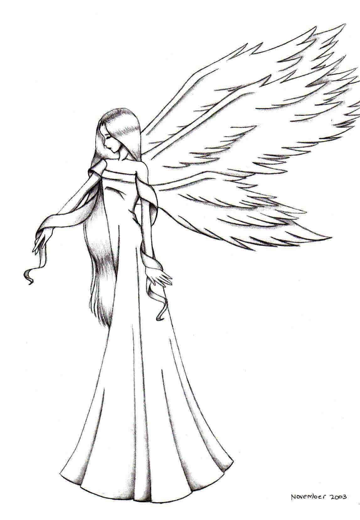 1148x1657 Sorrowful Angel By Fu Rin Ka Zan