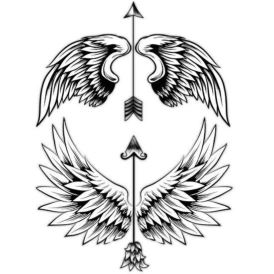 Angels Wings Drawing