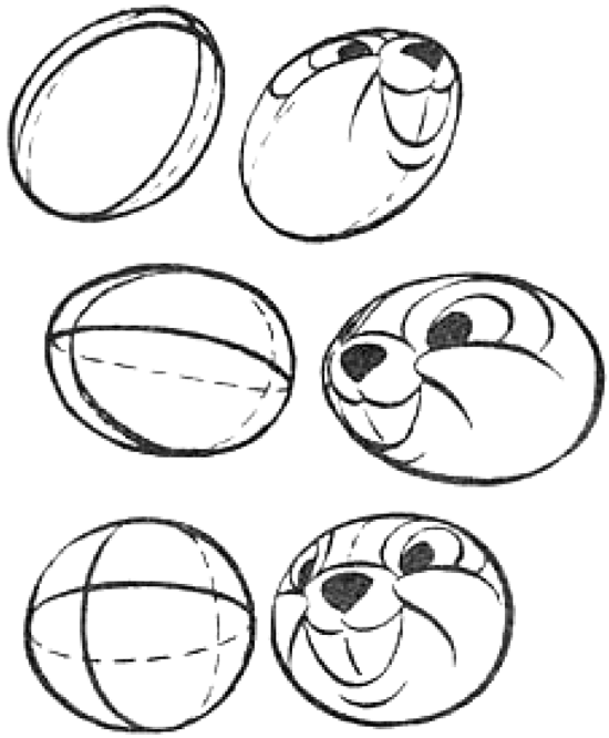 550x666 Drawing Cartoon Heads From Every Angle And Position Tutorial