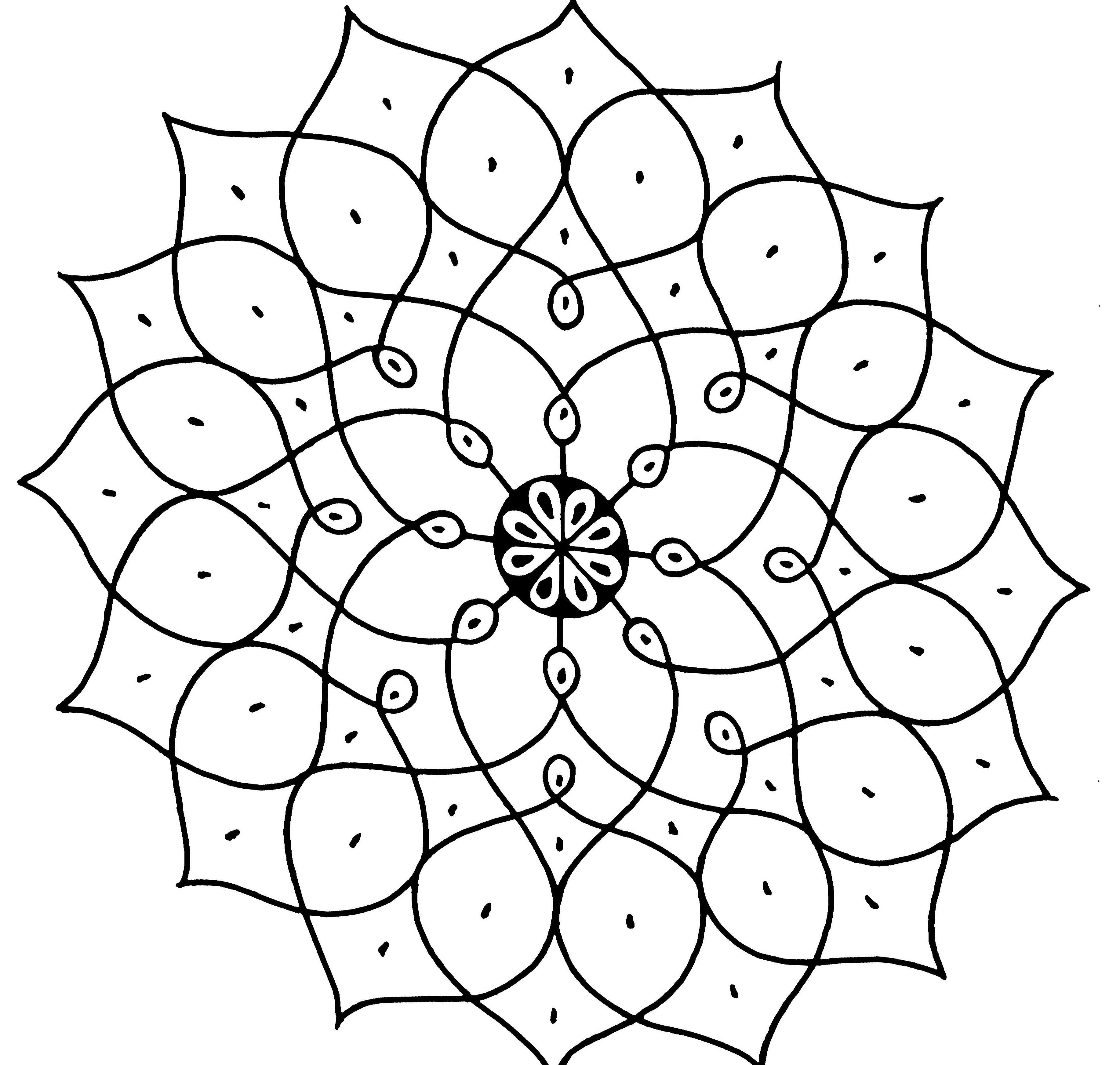 3668x3488 Wallpaper Monochrome, Symmetry, Line Art, Pattern, Circle