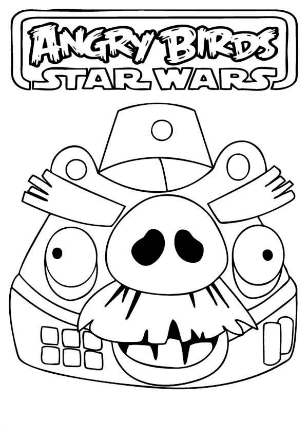 600x850 Drawing Angry Birds Star Wars Coloring Pages Batch Coloring