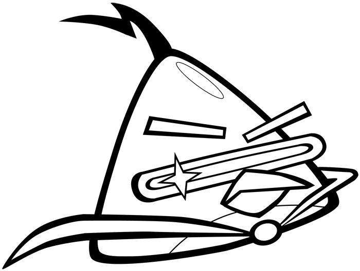 700x528 How To Draw Lazer Bird From Angry Birds Space With Easy Step By