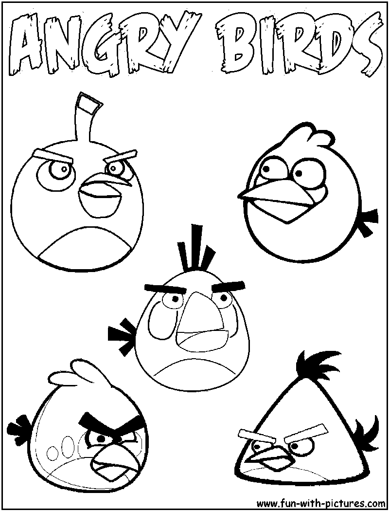 800x1050 Angry Birds Drawing Templates Angry Birds Colouring Pages That You