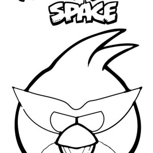300x300 Angry Birds Space Coloring Pages Batch