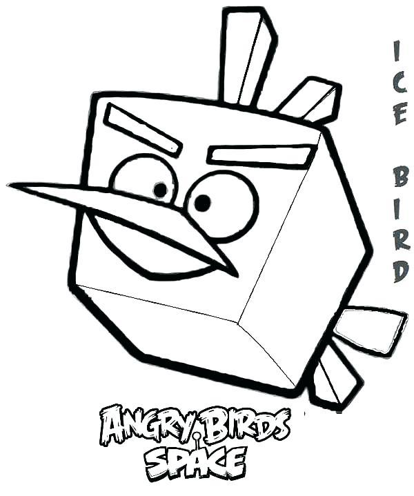 600x719 Coloring Pages Angry Birds Star Wars Angry Bird Coloring Page