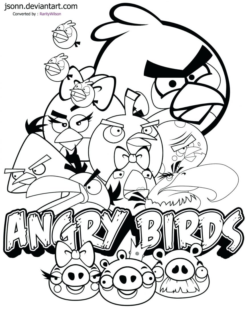 863x1093 Coloring Sheets Angry Birds Space Pages Free Bird Colouring