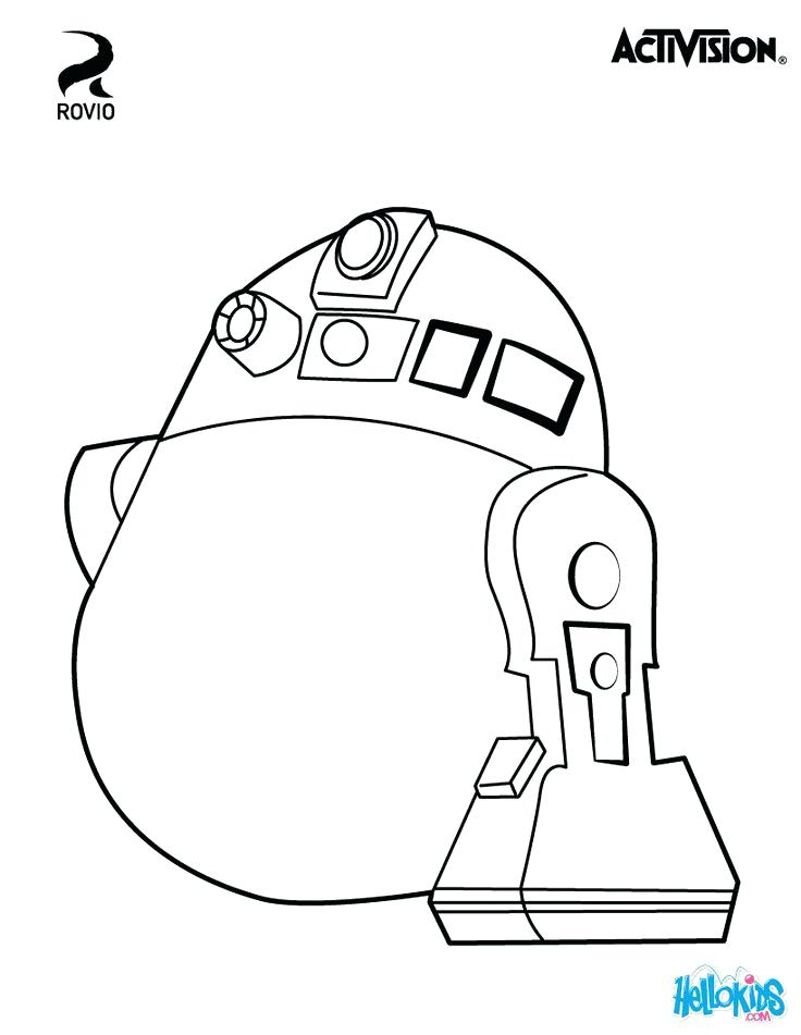 736x951 Coloring Pages Angry Birds Star Wars Original Coloring Page About