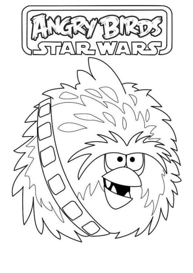 635x900 Coloring Pages Angry Birds Star Wars, Printable For Kids Amp Adults