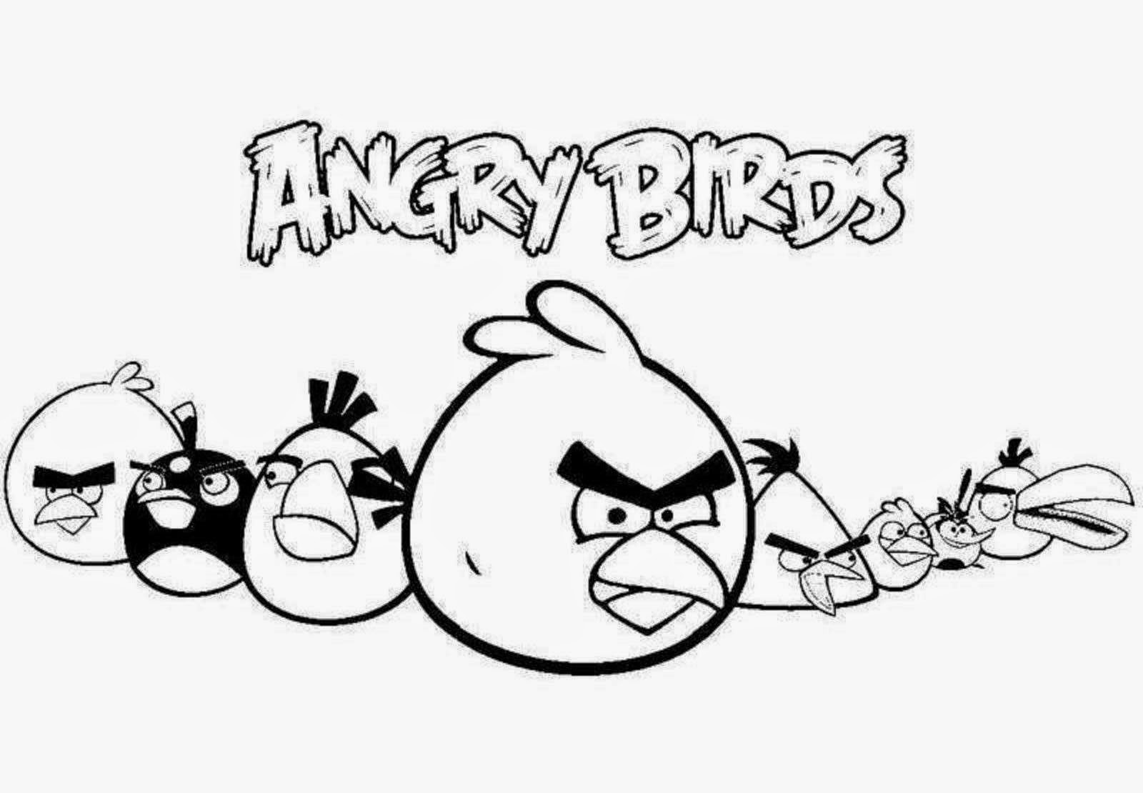 1600x1110 Colour Drawing Free Wallpaper Angry Birds Coloring Drawing Free