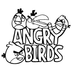 230x230 Top 40 Free Printable Angry Birds Coloring Pages Online Angry