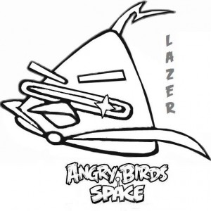 300x300 Angry Birds Space Is Excited Coloring Pages Batch Coloring
