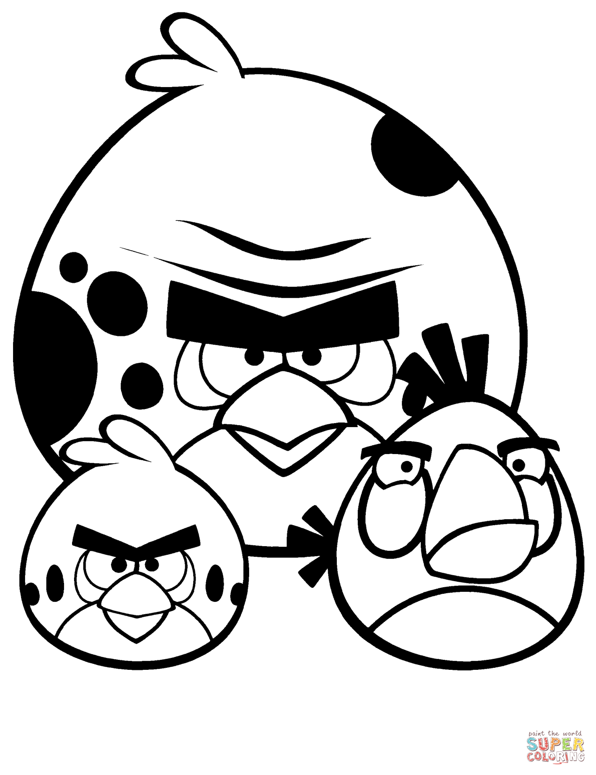 1191x1548 Angry Birds Coloring Pages Free Coloring Pages