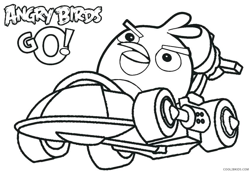 850x584 Birds Coloring Pages Bird Coloring Pages Angry Birds Space