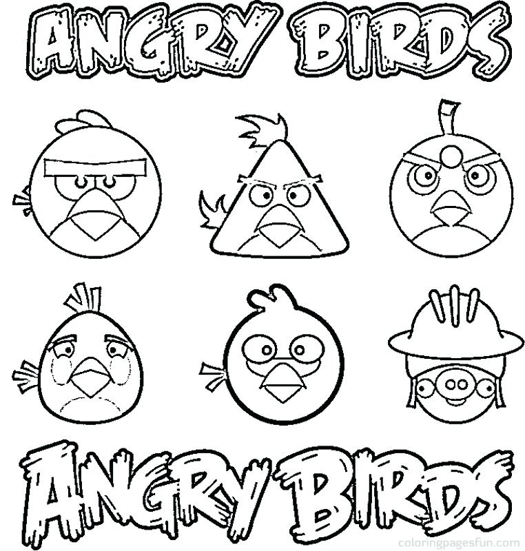 762x800 Coloring Pages Angry Birds Angry Birds Coloring Pages Angry Birds