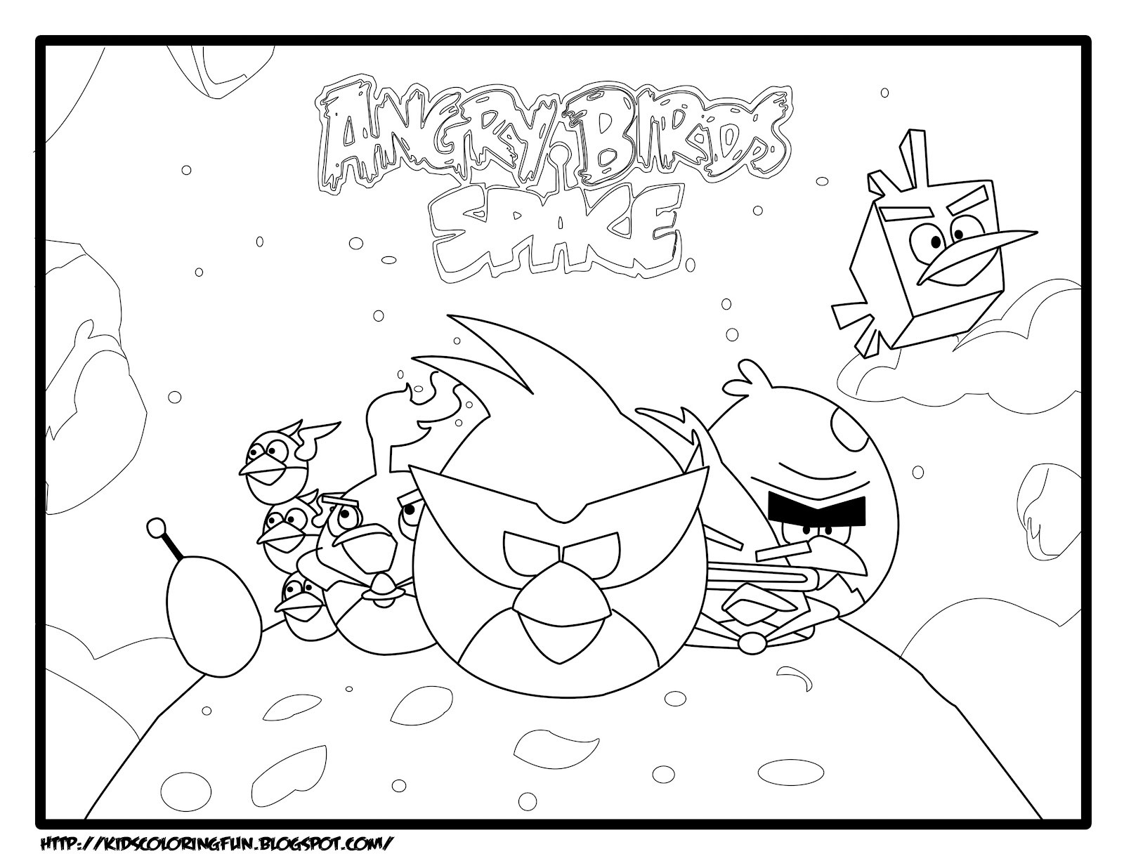 1600x1236 Angry Birds Bomb Coloring Pages Copy Free Angry Birds Space