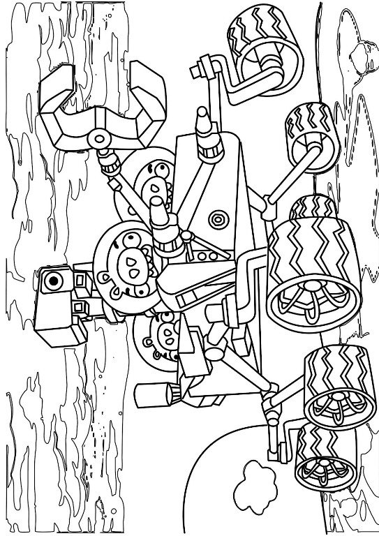 543x768 Kids N 9 Coloring Pages Of Angry Bird Space
