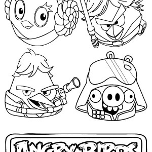 220x220 Angry Birds Star Wars Coloring Pages 300x300 1 References For