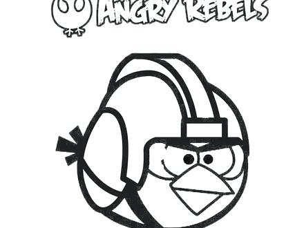 440x330 Coloring Pages Angry Birds Star Wars Angry Birds Star Wars