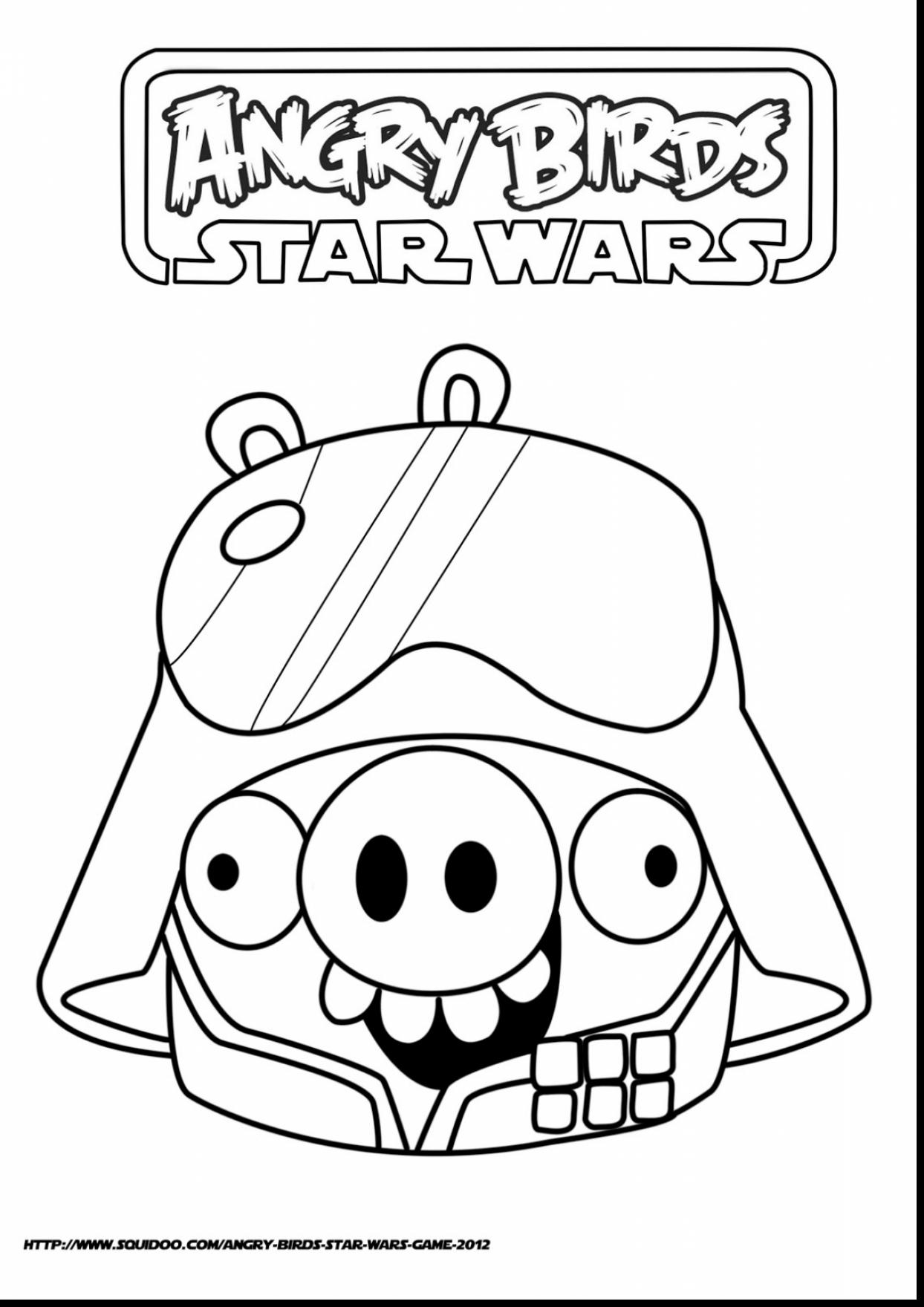 1244x1760 Spectacular Angry Birds Star Wars Coloring Pages Pigs Daily