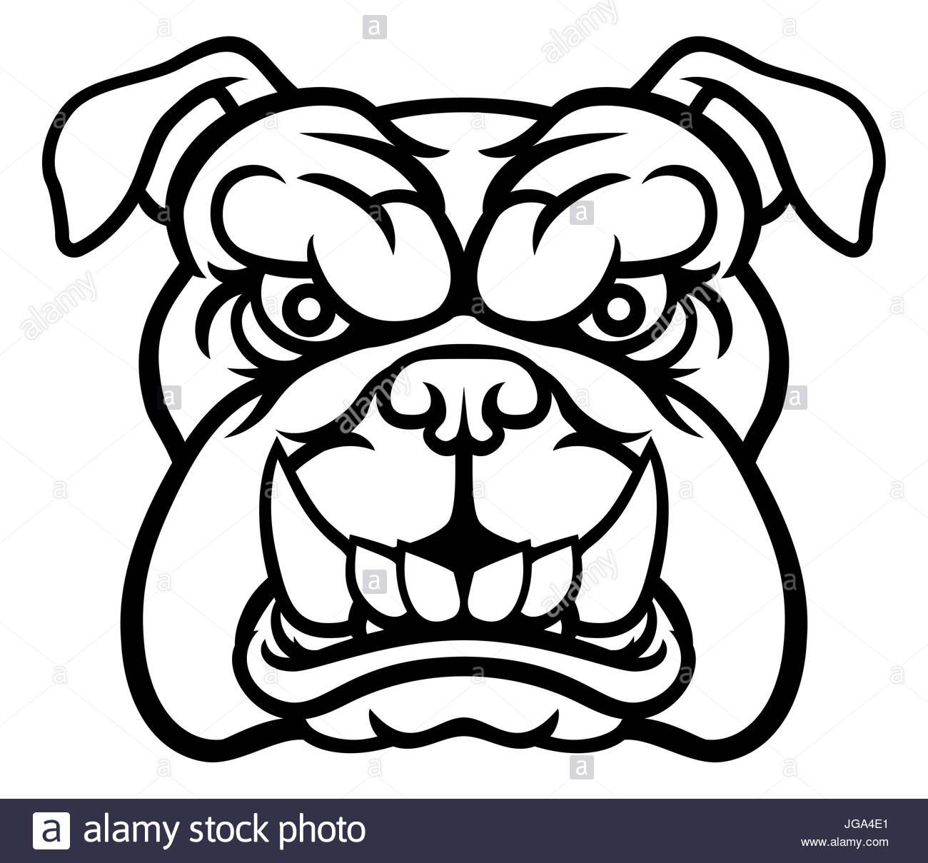 Angry Dog Drawing