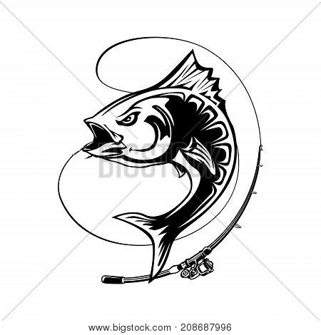 450x470 Angry Tuna Fish Logo. Tuna Fishing Vector Amp Photo Bigstock