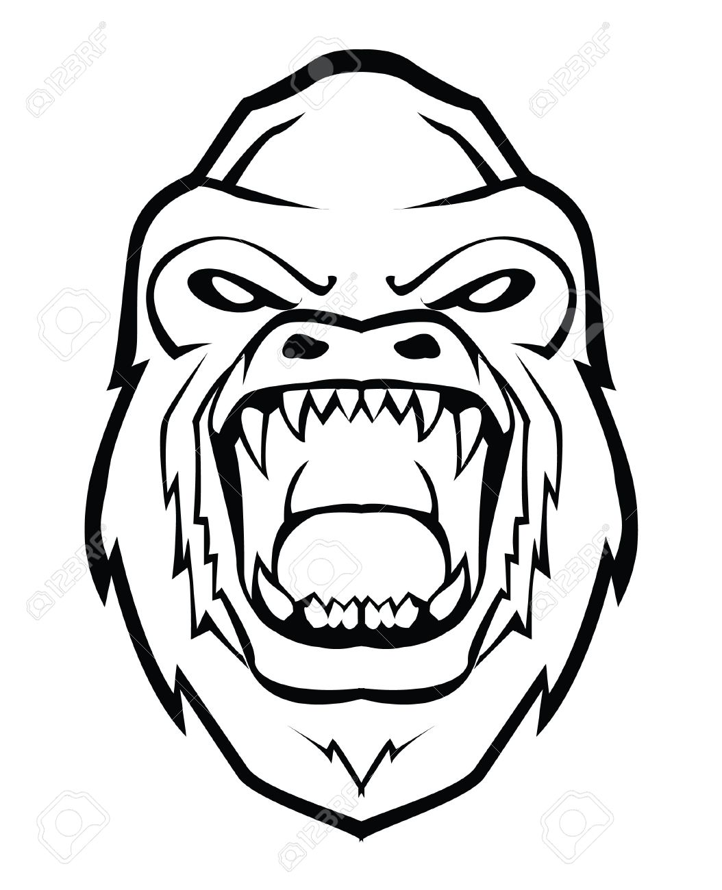 Line Drawing Angry Face : Angry face drawing at getdrawings free for personal