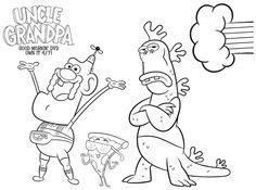 236x175 Free Uncle Grandpa Printable Coloring Page Printable Coloring