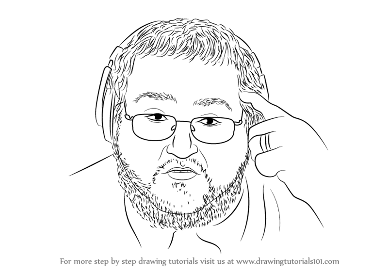 800x565 Learn How To Draw Boogie2988 Aka Francis (Youtubers) Step By Step