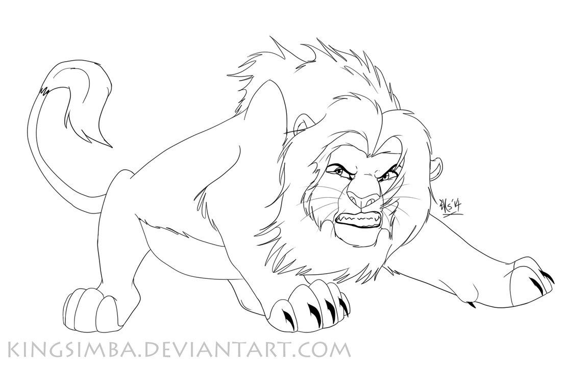 1113x718 Simba Is Angry. Very Angry By Kingsimba