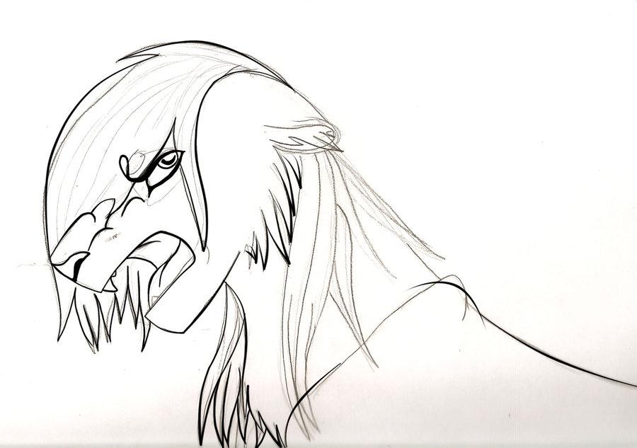 900x633 Wip Angry Lion By Ashiraangel