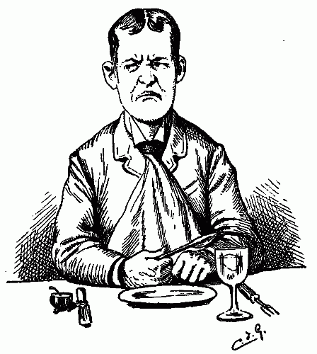 448x500 Public Domain Images Hungry Angry Unhappy Man Waiting For Dinner