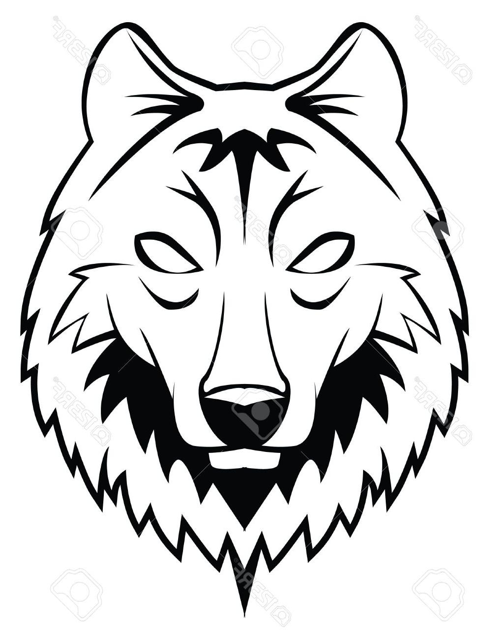 998x1300 Drawn Face Wolf Many Interesting Cliparts